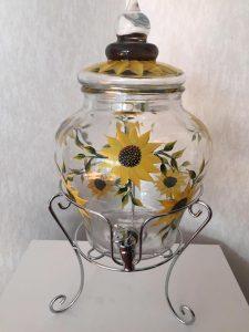 sunflower dispenser
